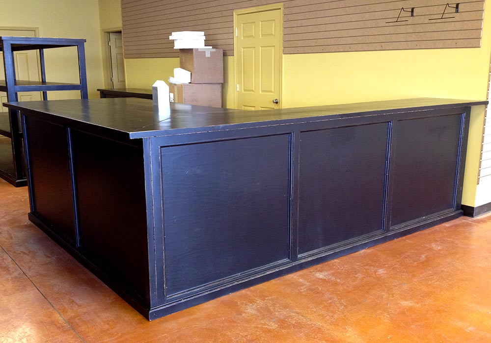 Hat Counters, Cowboy Hat Racks and Showcase Cabinets from Ranch Rack, San Antonio, Texas