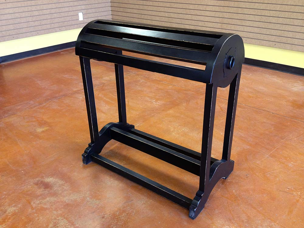 The Laredo Saddle Rack from Ranch Rack