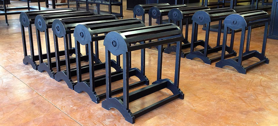 The Laredo Saddle Racks from Ranch Rack