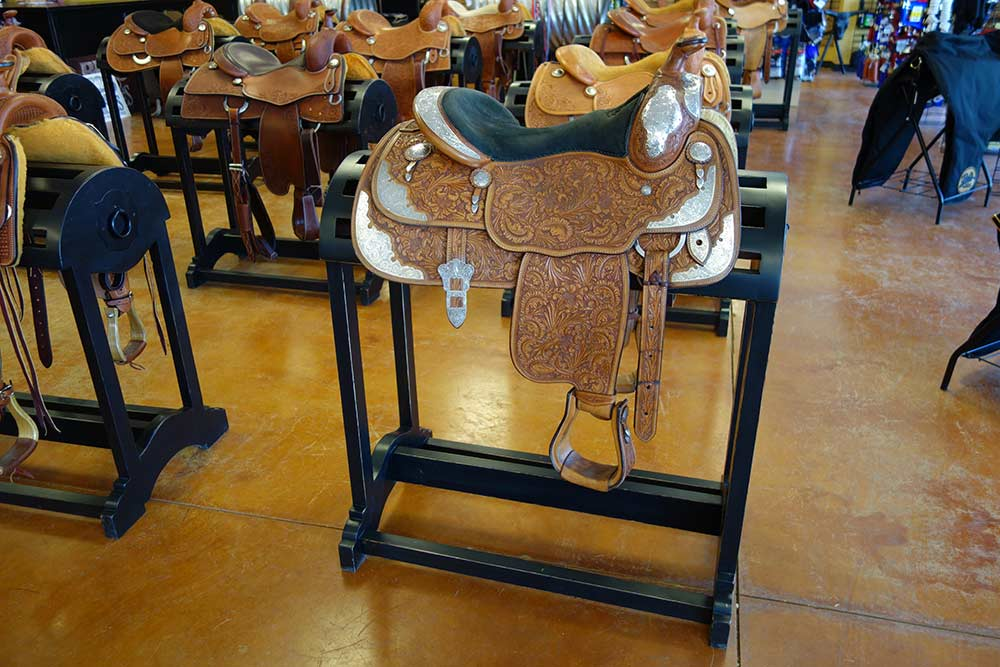Saddle Racks from Ranch Rack, San Antonio, Texas