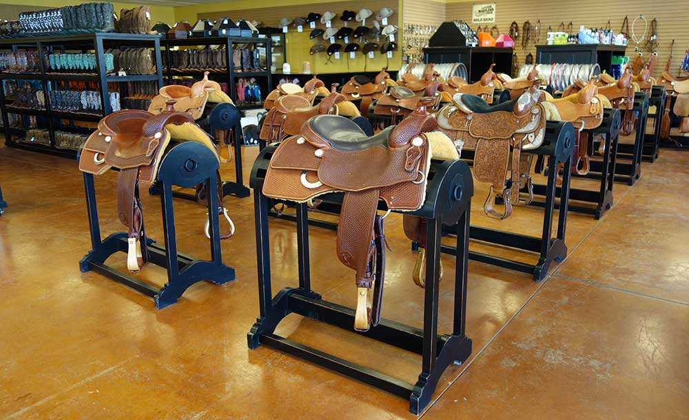 Saddle Racks in San Antonio from Ranch Rack